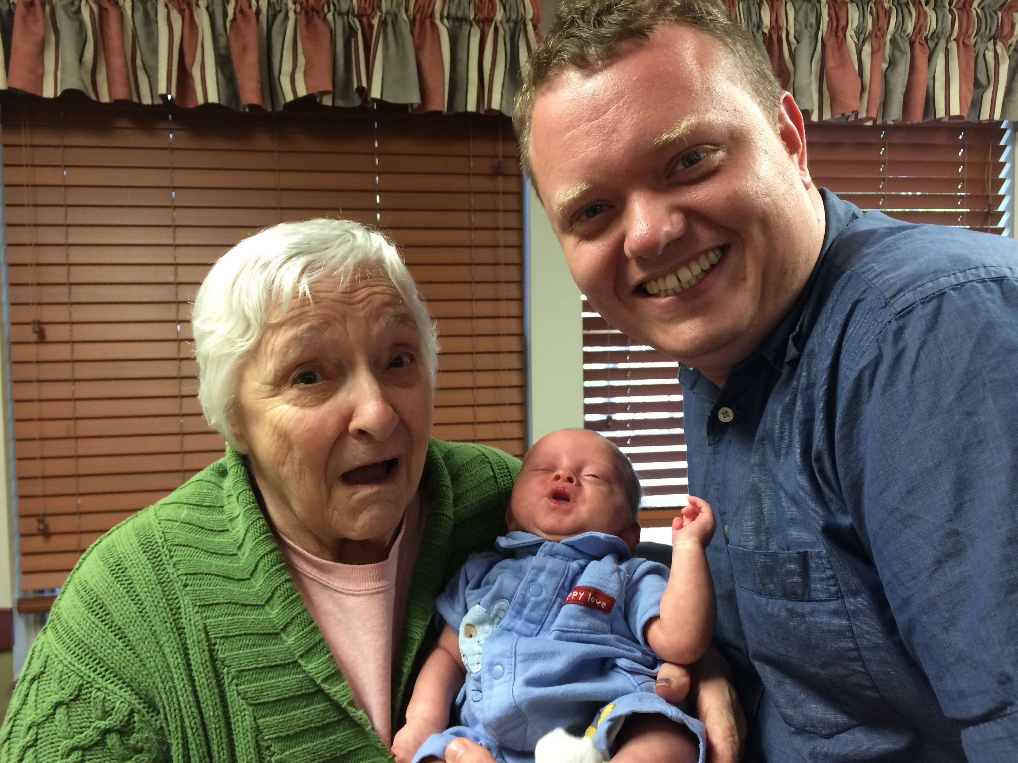 Jeremiah was a big hit with the residents of the nursing home!