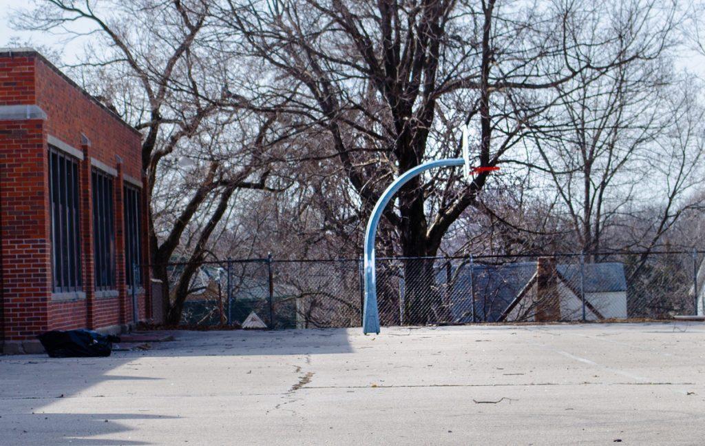 Full court basketball - will be so fun for the neighborhood!